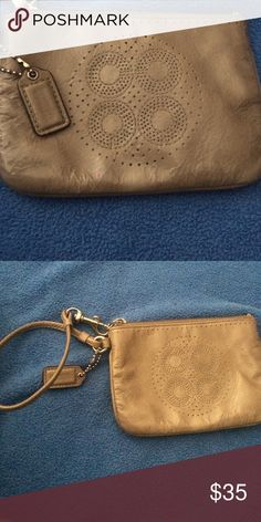 Coach Wristlet Hi, I am selling my coach wristlet in great condition. Coach Bags Clutches & Wristlets