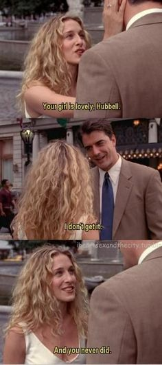 SATC meets The Way We Were...This is brilliant.....but so few get it.  The Lioness