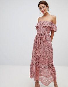 f97f1155378f lace off shoulder dress by NA-KD  nakd  dresses Φορέματα Παράνυμφων