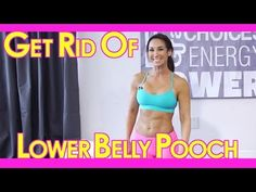 Best Lower Abs Workout To Get Rid Of The Lower Belly Pooch! | with Natalie Jill
