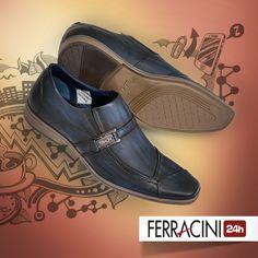 Cada pai tem seu estilo! Para os pais que não abrem mão do conforto, mas também procuram modelo sociais ousados, a linha Dresden é perfeita! #ferracini24h #shoes #cool #trend #brasil #manshoes