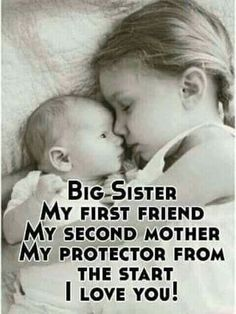 A Sister is God's way of proving He doesn't want us to walk alone. :) Love you sis <3 Tag/mention your brother and sister