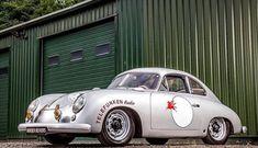 Porsche 356 Outlaw, Porsche 356 Speedster, Porsche 550, Porsche Carrera, Porsche Cars, Cowgirl Photo, Vw Cars, Sweet Cars, Vintage Cars