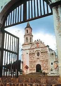 Tancoyol Mission in Jalpan de Serra, Queretaro, Mexico