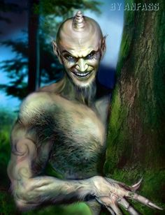 Sharale- Bashkir and Tatar myth: a forest creature with long arms and fingers, a horn on its forehead, and a woolly body. It was said to be trickster and leading people into thickets and tickling them to death.