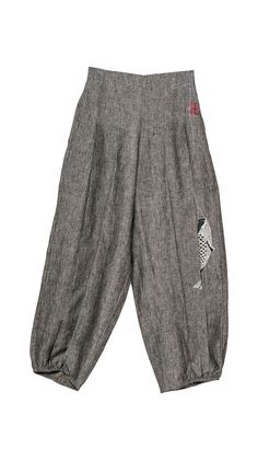 Trousers : Trousers Pleety Fish Lantern