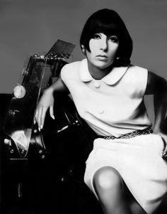 Vogue Editorial November 15 1969 - Cher by Richard Avedon Richard Avedon, Vogue Editorial, Twiggy, 1969 Fashion, Vintage Fashion, High Fashion, Cher Photos, Cher Bono, I Got You Babe
