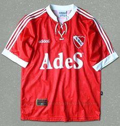 1995/97 Independiente de Avellaneda Football Soccer, Soccer Jerseys, National League, Adidas, Club, Reyes, House, Design, Football Shirts