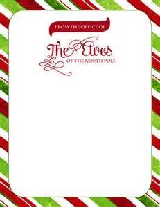 Home :: FREEBIES :: Official Elf Letterhead