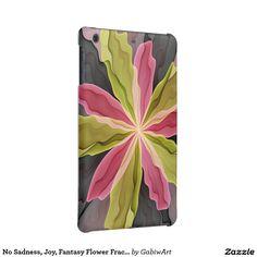 No Sadness, Joy, Fantasy Flower Fractal Art iPad Mini Retina Cases
