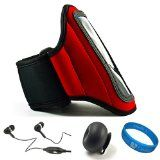 Red SumacLife Moisture Resistant Neoprene Hardcore Workout Armband for HTC Vivid 4G LTE Android   http://premiumcasemate.com/red-sumaclife-moisture-resistant-neoprene-hardcore-workout-armband-for-htc-vivid-4g-lte-android-smartphone-with-4-5-inch-qhd-display-screen-by-att-black-handsfree-headphones-with-mic-black-ru/