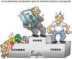 RECESSÃO DEVE OFUSCAR SUPOSTOS BENEFÍCIOS DA OLIMPÍADA.