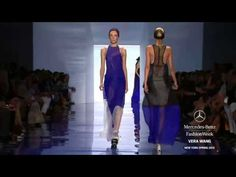 "▶ ""VERA WANG"" Fashion Show Spring Summer 2014 New York HD by Fashion Channel - YouTube"