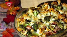 Kürbis-Brokkoli Auflauf - Low Carb - Rezept von Low Carb Mit Vroni und Nico Feta, Wok, Vegetable Pizza, Broccoli, Cauliflower, Chili, Make It Yourself, Vegetables, Zucchini