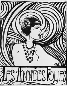 53 Ideas Art Nouveau Fashion For 2019 Space Art Projects, Art Deco Posters, Art Nouveau Fashion, Elegant Art, Drawing Illustrations, Pattern Coloring Pages, Art, Artwork Painting, Pix Art