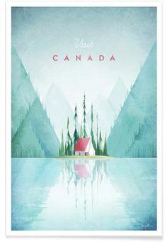Canada - Henry Rivers - Affiche premium