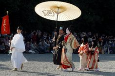 Kyoto Festival - traditional clothes