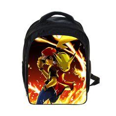 2016 Cartoon Children school backpacks Pokemon school bags for Boys Girls Cute Pikachu kids Small Bag Daily Casual Mochilas