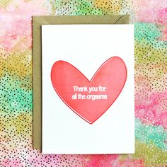 137 best naughty cards images on pinterest in 2018 etsy seller thank you for all the orgasms valentines day naughty card check us out naughty m4hsunfo