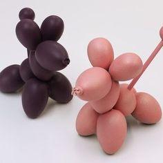 Les chiens #chienballon #chocolat #chien #beautiful