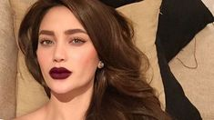 5 Lipstick Lessons We Learned From Arci Munoz Kiss Makeup, Hair Makeup, Top Celebrities, Celebs, Arci Munoz, Filipina Beauty, Teen Vogue, Brown Hair Colors, Fair Skin