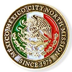 México México City North LDS Mission Pin