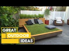 Outdoor Daybeds To Get You Dreaming Of Warmer Weather Outdoor - Build a crazy grass day bed for napping in the sun