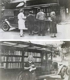 bookmobile; 1927