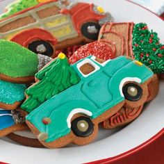 King Arthur Flour Truck and Tree Cookie Cutter