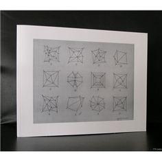 Weber / Hoffman Gallery # SOL LEWITT, Working Drawings # 1995, mint