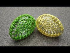 Easter Crochet, Crochet Crafts, Diy Crafts, Easter Egg Designs, Egg Decorating, Easter Baskets, Easter Crafts, Happy Easter, Painted Rocks