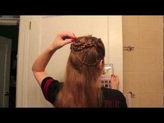 Beautiful historical (princess-y) hair tutorial