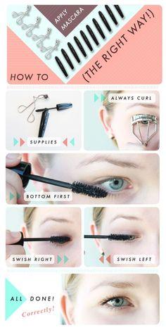 The Right Way to Apply Mascara | Beauty Lovers