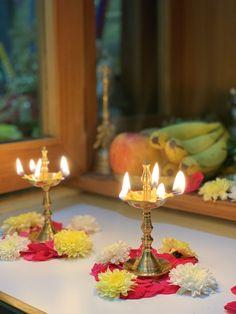 Diwali Decoration Lights, Mandir Decoration, Diwali Decorations At Home, Home Wedding Decorations, Backdrop Decorations, Festival Decorations, Flower Decorations, Rangoli Designs Flower, Rangoli Designs Diwali