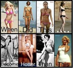 How Hot Women Have Changed Over the Years, It's Amazing!