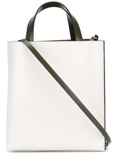 f794e78724 MARNI small  Museo  tote.  marni  bags  shoulder bags  hand bags  canvas   leather  tote