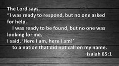 Here I Am! - http://blog.peacebewithu.com/here-i-am-2/