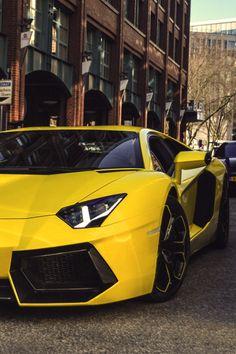 Lamborghini Adventador- Yellow Topgear top gear Supercar supercars car cars super exotic