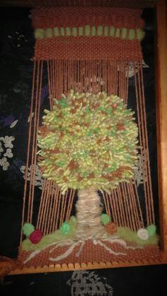 Árbol telar mural