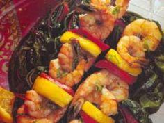 Receita de Espetinhos de camarão