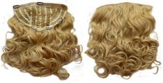 One piece hair extensions WAVY / CURLY STYLE - wigs Human Hair, very thick, easy clip in half wigs. One Piece Hair Extensions, Human Hair Extensions, Clip In Hair Pieces, Easy Clip, Half Wigs, 100 Human Hair, Face Shapes, Hair Makeup, Hairstyle
