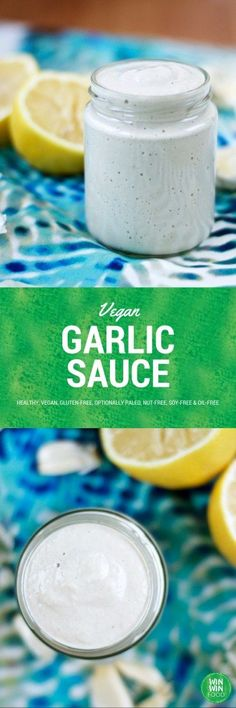 Vegan Garlic Sauce