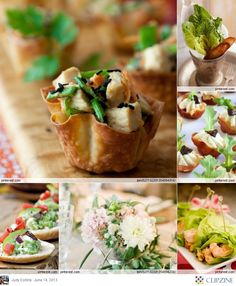 Perfect food for a garden party