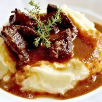 Czech Recipes, Ethnic Recipes, Modern Food, No Salt Recipes, Mashed Potatoes, Food And Drink, Vegetarian, Beef, Baking