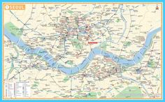 cool Map of Seoul/Incheon