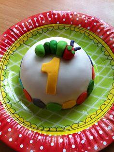 Kers Op de Taart: Mijn eerste verjaardag met Rupsje Nooitgenoeg