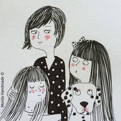 Monila,i ghirigori di Monila, illustrazione