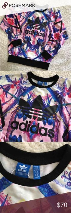 NWT Adidas Pullover Crewneck Sweatshirt Brand new with tags! Size XS. Adidas Tops Sweatshirts & Hoodies