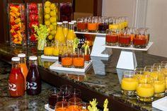 Meeting Juice Break at Hyatt Regency Atlanta
