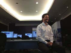 Jamie Ware on location in the Rand 3D training room, Mississauga, ON